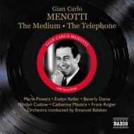 『霊媒』全曲、『電話』全曲 バラバン&管弦楽団、パワーズ、ロジエ、コトロー、他(1947 モノラル)