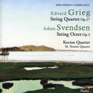 Octet: Kocian Q M.nostitz Q +grieg: String Quartet, 1, : Kocian Q
