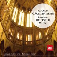 グノー:チェチーリア・ミサ(アルトマン&パリ音楽院管)、シューベルト:ドイツ・ミサ(フォルスター&聖ヘドヴィヒ大聖堂聖歌隊)