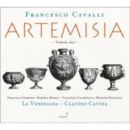 歌劇『アルテミジア』全曲 カヴィーナ&ラ・ヴェネクシアーナ、マッツッリ、マメリ、他(2010 ステレオ)(3CD)