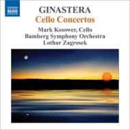 チェロ協奏曲第1番、第2番 コソワー、ツァグロゼク&バンベルク交響楽団