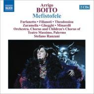 『メフィストーフェレ』全曲 ランツァーニ&パレルモ・マッシモ劇場、フルラネット、テオドッシュウ、フィリアノーティ、他(2008 ステレオ)(2CD)