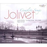 ジョリヴェ:歌曲全集、ヴァレーズ:暗く深い眠り マリレー、イムラー、パーラー、ファリネッリ(2CD)