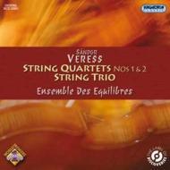 弦楽四重奏曲第1番、第2番、弦楽三重奏曲 アンサンブル・デ・ゼキリブル