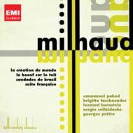 世界の創造、屋根の上の牡牛(バーンスタイン指揮)、フランス組曲(プレートル指揮)、マリンバ協奏曲(チェリビダッケ指揮)、他(2CD)
