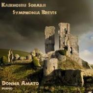 ピアノ独奏のための交響曲第5番『シンフォニア・ブレヴィス』 アマート(2CD)