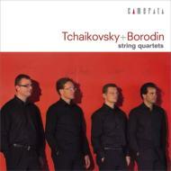 チャイコフスキー:弦楽四重奏曲第1番、ボロディン:弦楽四重奏曲第2番 シュトイデ弦楽四重奏団