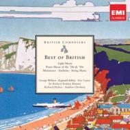 『ベスト・オブ・ブリティッシュ』 ヒコックス&ロンドン・シンフォニア、キングズ・カレッジ合唱団、ロドニー・ベネット、他(5CD限定盤)