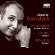 プロコフィエフ:ピアノ・ソナタ第7番、スクリャービン:ピアノ・ソナタ第5番、ラフマニノフ:楽興の時、ヴォカリーズ、他