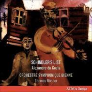 ブロッホ:ヘブライ組曲、コンチェルト・グロッソ第1番、ジョン・ウィリアムズ:『シンドラーのリスト』組曲 ダ・コスタ、レスナー&ビエンヌ響、他