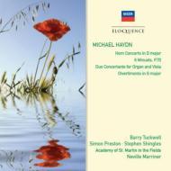 ホルン協奏曲、二重協奏曲、ディヴェルティメント、他 マリナー&アカデミー室内管、タックウェル、プレストン、ウィーン八重奏団員、他