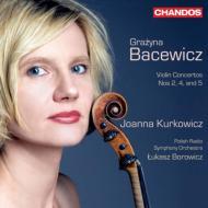 ヴァイオリン協奏曲第2番、第4番、第5番 クルコヴィチ、ボロヴィツ&ポーランド放送交響楽団