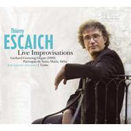 Live Improvisations: Escaich(Org)