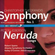 Sym, 1, : Spano / Atlanta So +p.lieberson: Neruda Songs: K.o'conner(Ms)