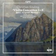 ヴァイオリン協奏曲第1番、第2番、第3番、伝説、ロマンス、宵の明星、組曲 ビエロフ、ベールマン&北ドイツ放送フィル(2CD)