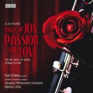 『波の上』、クラリネット協奏曲『喜び、情熱と愛の物語』、『花盛りの春』 リントゥ&タンペレ・フィル、クリーク