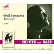 Well-Tempered Clavier Book,  1,  : S.Richter(P)(1969)(2CD)