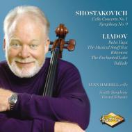 ショスタコーヴィチ:チェロ協奏曲第1番、交響曲第9番、リャードフ:管弦楽曲集 ハレル、シュウォーツ&シアトル響