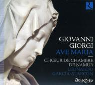 Ave Maria-sacred Works: Garcia-alarcon / Namur Chamber Cho Cappella Mediterranea
