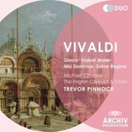 ヴィヴァルディ(1678-1741)/Gloria Stabat Mater Salve Regina Etc: Pinnock / English Concert +a.scarlatti
