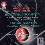 Orchestral Tone Poems: M.yates / Royal Scottish National O +bainton