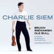ブルッフ:ヴァイオリン協奏曲第1番、ヴィエニャフスキ:ヴァイオリン協奏曲第1番、他 チャーリー・シーム、ゴーレイ&ロンドン響