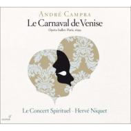 オペラ・バレ『ヴェニスの謝肉祭』 ニケ&コンセール・スピリチュエル、アレール、ヴィダル、他(2CD)