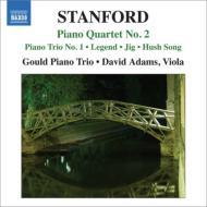 ピアノ四重奏曲第2番、ピアノ三重奏曲第1番『6つのアイルランドの幻想』より グールド・ピアノ三重奏団、D.アダムス