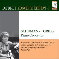 シューマン:ピアノ協奏曲、グリーグ:ピアノ協奏曲 ビレット、ヴィット&ビルケント交響楽団
