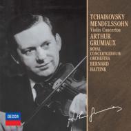 チャイコフスキ−:ヴァイオリン協奏曲、メンデルスゾ−ン:ヴァイオリン協奏曲 グリュミオー、ハイティンク&コンセルトヘボウ管(限定盤)