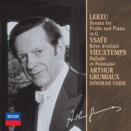 ルクー:ヴァイオリン・ソナタ、イザイ:子供の夢、ヴュータン:バラードとポロネーズ グリュミオー、ヴァルシ(限定盤)