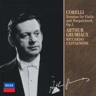 ヴァイオリン・ソナタ集 グリュミオー、カスタニョーネ(2CD限定盤)