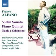 ピアノ五重奏曲、ヴァイオリン・ソナタ、ネニアとスケルツィーノ ダルヴァロヴァ、スコット・ダン、他