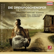 Die Dreigroschenoper-songs: Nenya Weill Lewis Ruth Band Klemperer / Abravanel / Etc