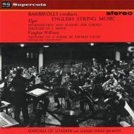 エルガー:序奏とアレグロ、セレナーデ、ヴォーン・ウィリアムズ:タリス幻想曲、グリーンスリーヴス ジョン・バルビローリ(180グラム重量盤)