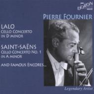 サン=サーンス:チェロ協奏曲第1番、ラロ:チェロ協奏曲、チェロ名曲集 フルニエ、コンタ&モンテカルロ国立歌劇場管、他