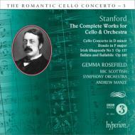 チェロ協奏曲、ロンド、バッラータとバッラビーレ、アイルランド狂詩曲第3番 ローズフィールド、マンゼ&BBCスコティッシュ響
