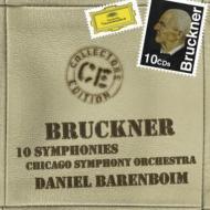 Complete Symphonies : Barenboim / Chicago Symphony Orchestra (10CD)