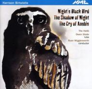 Night's Black Bird, The Shadow of Night, etc : R.Wigglesworth / Halle Orchestra