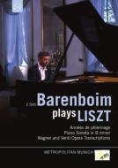 ピアノ・ソナタ、『巡礼の年』第1年、第2年、オペラ編曲集 バレンボイム