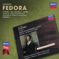 『フェドーラ』全曲 ガルデッリ&モンテカルロ国立歌劇場管、オリヴェロ、デル・モナコ、ゴッビ、他(1969 ステレオ)(2CD)
