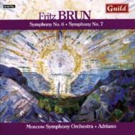 交響曲第6番、第7番 アドリアーノ&モスクワ交響楽団