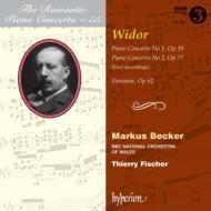 ピアノ協奏曲第1番、第2番、幻想曲 M.ベッカー、T.フィッシャー&BBCウェールズ・ナショナル管