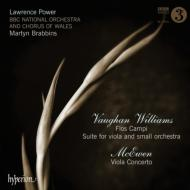 ヴォーン・ウィリアムズ:『野の花』、ヴィオラのための組曲、マキューアン:ヴィオラ協奏曲 L.パワー、ブラビンズ&BBCウェールズ・ナショナル管