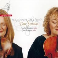 モーツァルト:ヴァイオリンとヴィオラのための二重奏曲集、M.ハイドン:二重奏曲集 ポッジャー、J.ロジャース