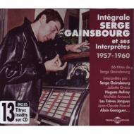 Integrale Serge Gainsbourg Et Ses Interpretes 1957-1960