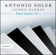 Keyboard Sonatas Vol.2: Barrio(P)