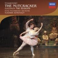 チャイコフスキー:『くるみ割り人形』全曲、グラズノフ:『四季』全曲 アシュケナージ&ロイヤル・フィル(2CD)