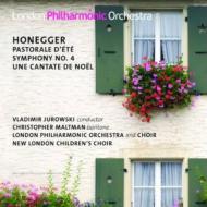 HMV&BOOKS onlineオネゲル(1892-1955)/Sym 4 Pastorale D'ete Une Cantate De Noel: V.jurowski / Lpo & Cho Maltman(Br)
