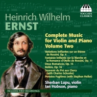 Complete Music For Violin & Piano Vol.2: S.lupu(Vn)Hobson(P)